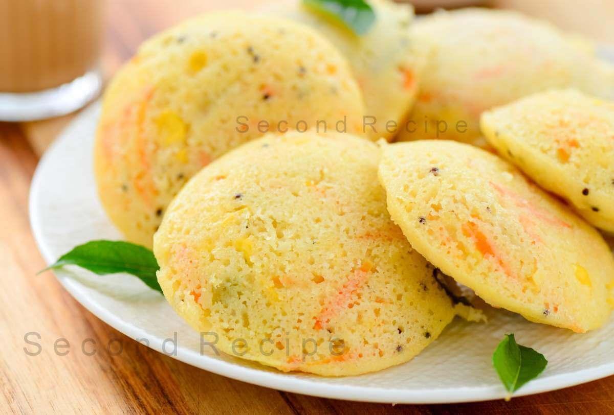 Vegetable Rava idli