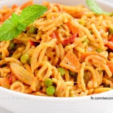 Homemade Noodles & tasty masala