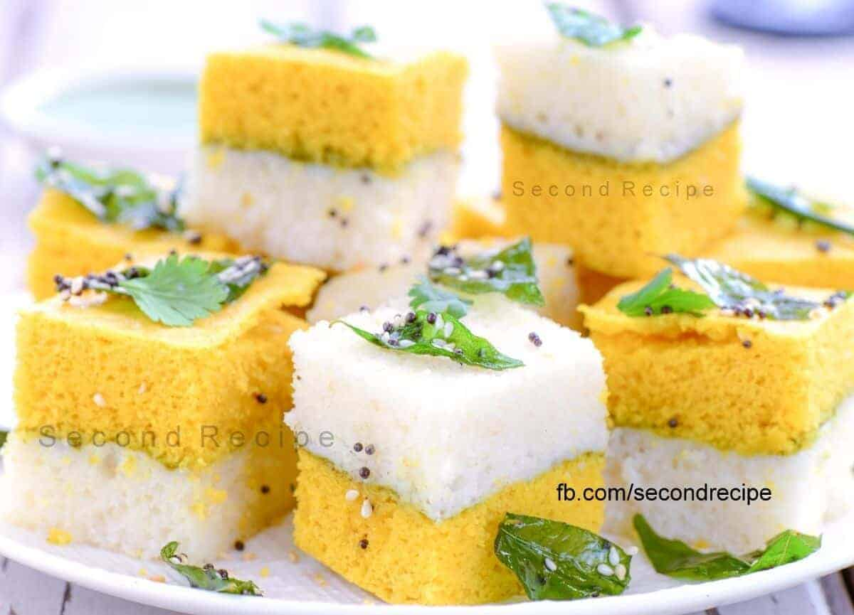 Sandwich Dhokla