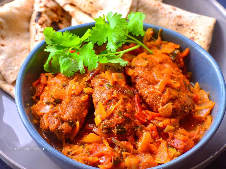 Aani Basar-gramflour cutlet curry