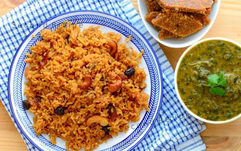 Sindhi Tairi-Sweet jaggery rice