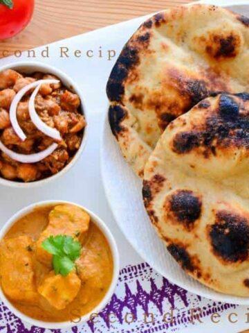 Wholewheat Tandoori Roti (without Tandoor)