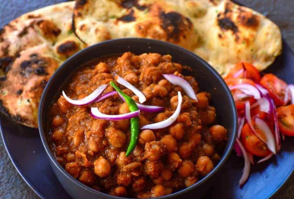 Vegan Channa masala