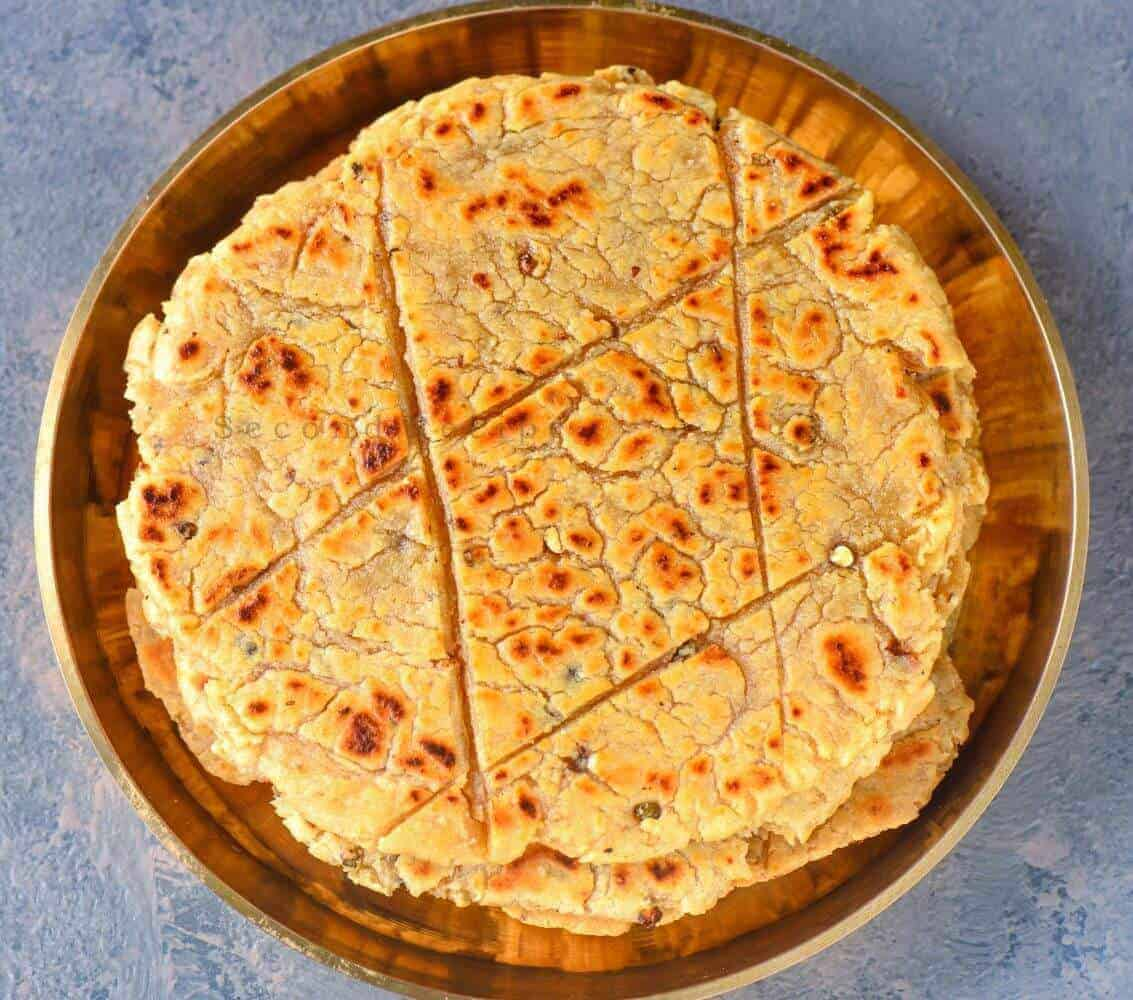 Kali mirch ki koki-Black pepper flatbread