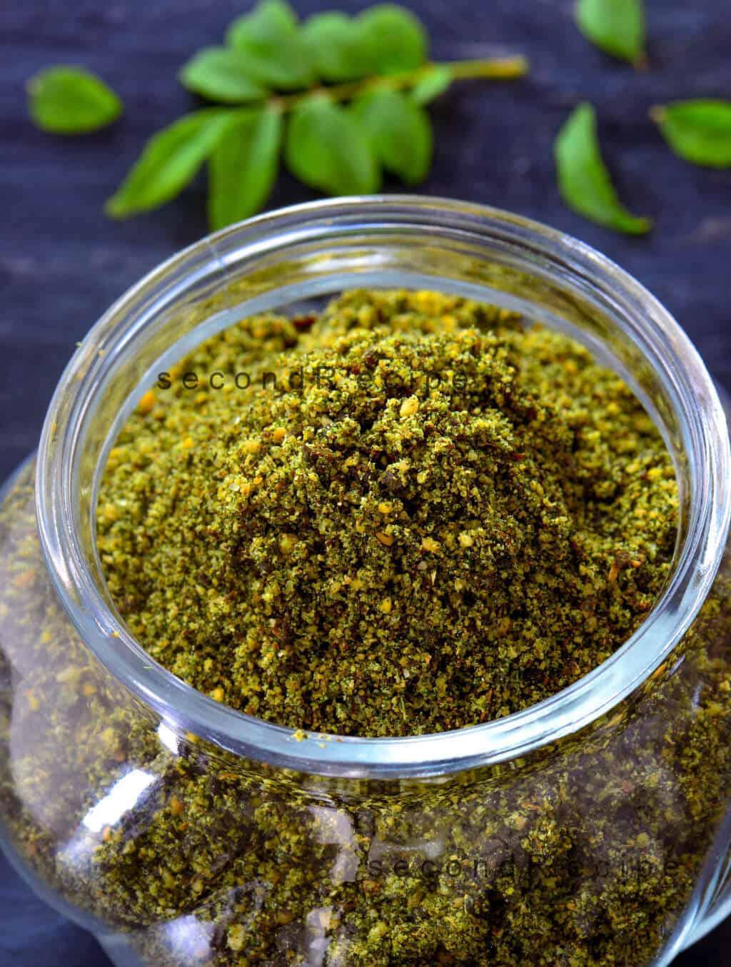 Karepaaku Podi-Curry leaves powder