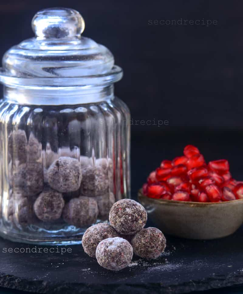 Anardana goli - pomegranate candy