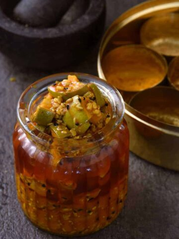 traditional mango pickle