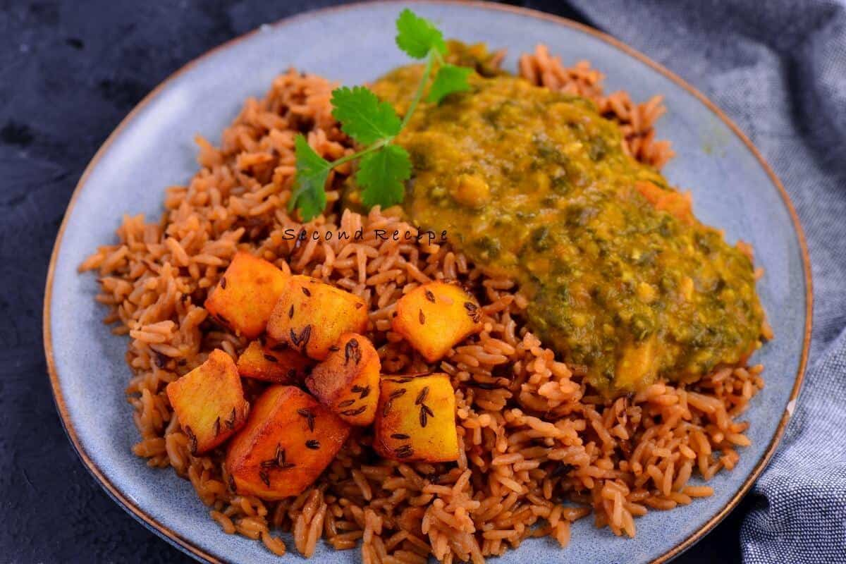 Bhuga chawal - Sindhi onion pulav