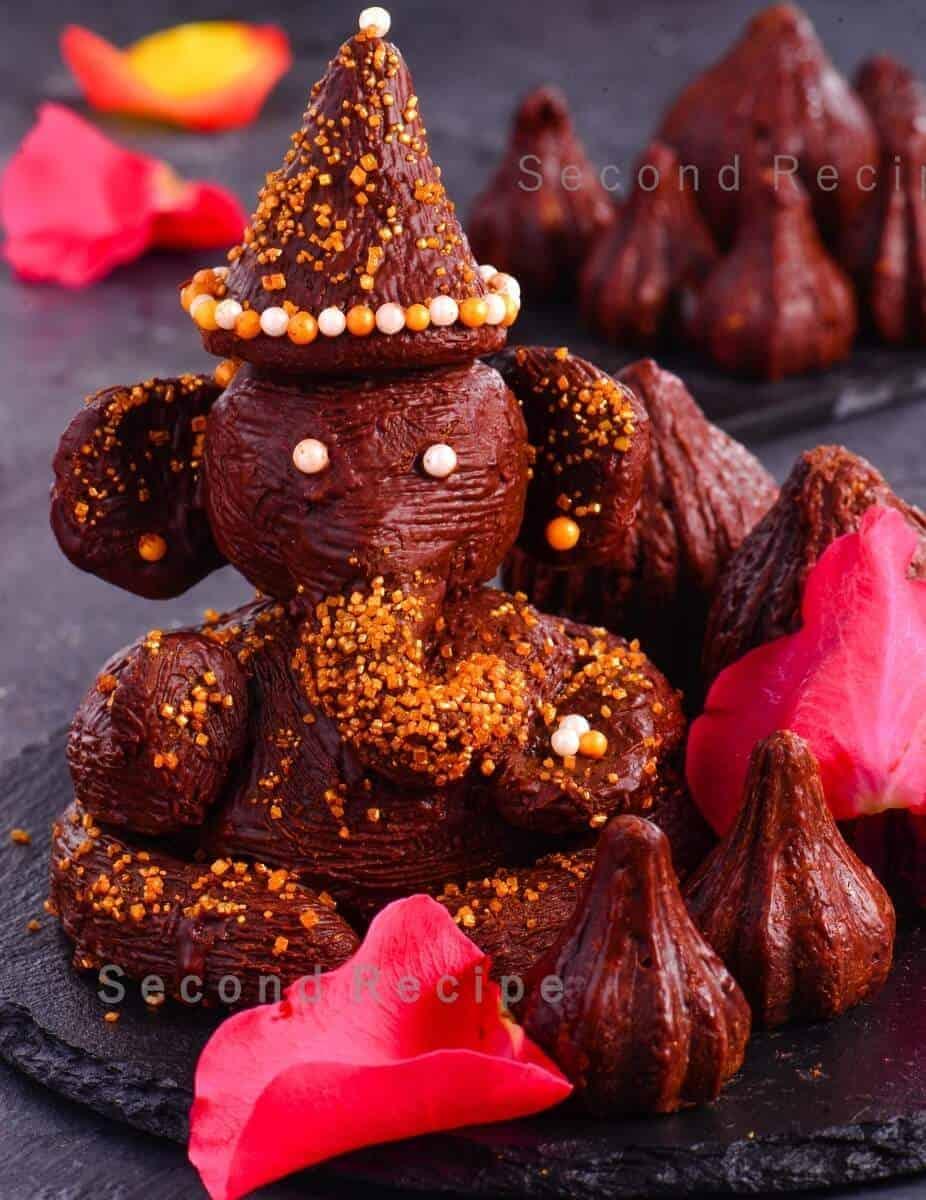 Chocolate Ganpati Idol