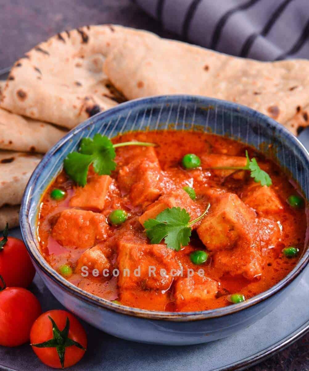 Quick curry: Matar Paneer