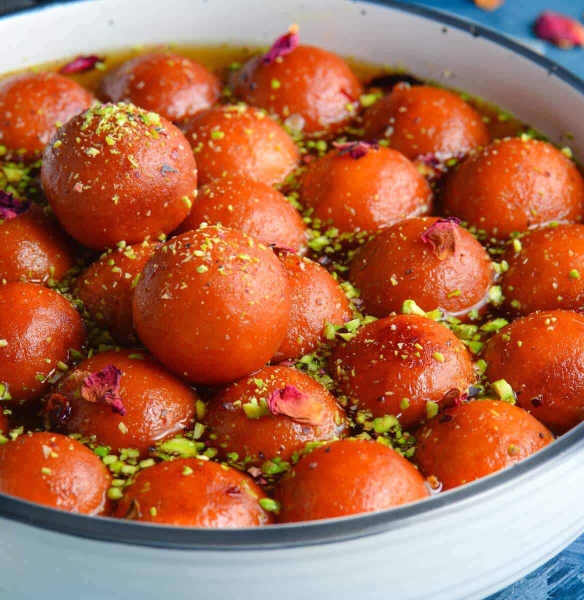 gulab jamun(with khoya)