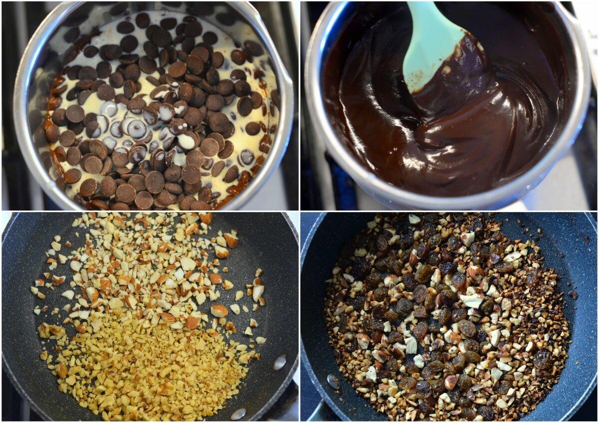 nutty chocolate bites 1