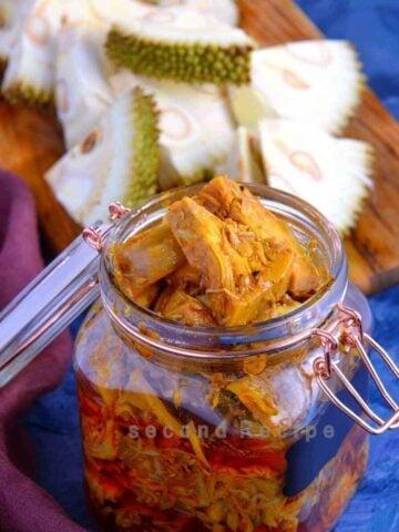 kathal ka achar -jackfruit pickle