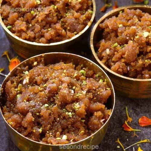 moong dal halwa easy recipe
