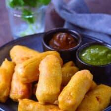 Paneer Pakoda- cottage cheese fritters