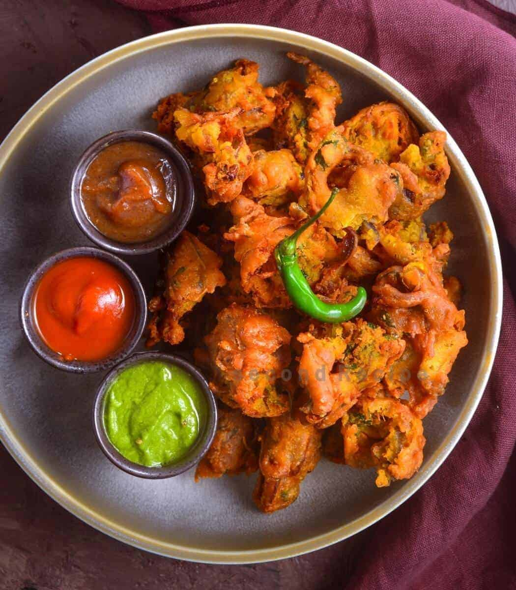 Sanna pakode- Double-fried fritters