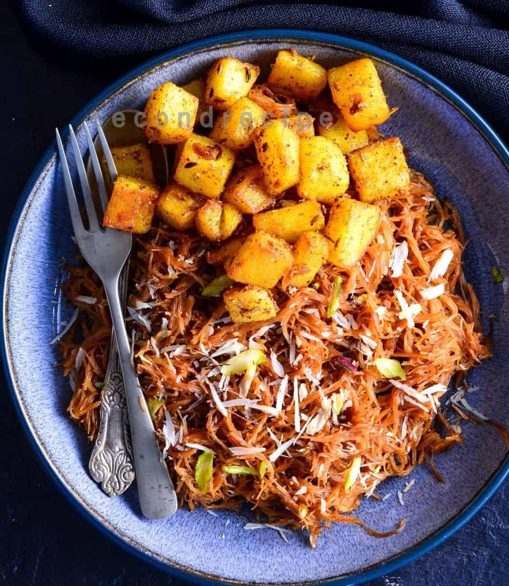 Seyun Patata-Sweet Vermicelli with fried potatoes