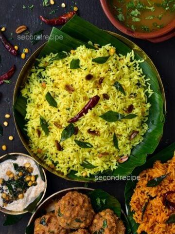 south indian style lemon rice