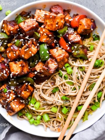 tofu manchurian